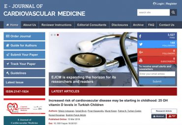 E-Journal of Cardiovascular Medicine
